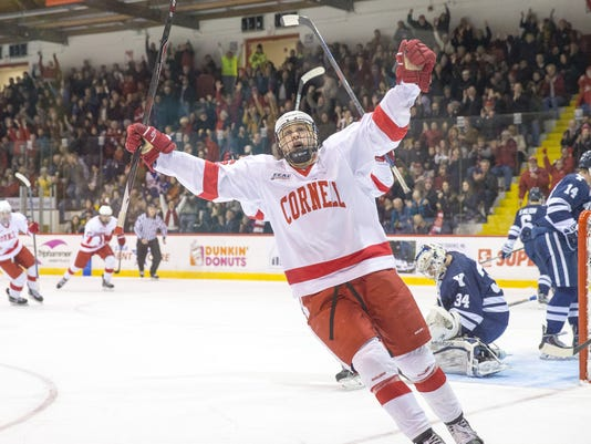 Cornell Mens Ice Hockey vs Yale