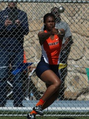 UTEP thrower Fayon Gonzales