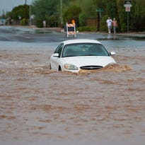 Washes running, streets flooded after storms: Apache Junction, San Tan Valley hit hard