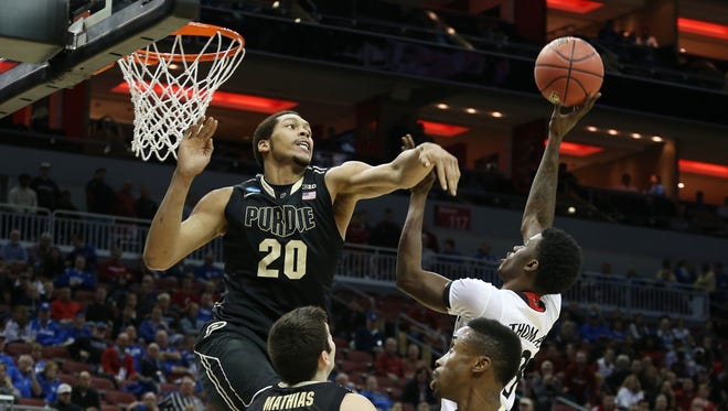 A.J. Hammons is back for his senior season in West Lafayette.