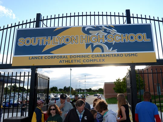 The South Lyon High's stadium and athletic complex