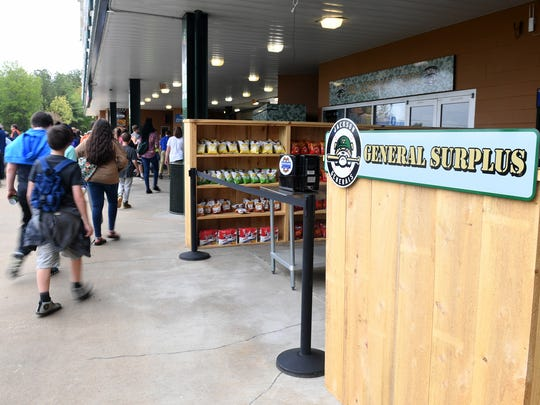 The Jackson Generals surplus store is a new stand for