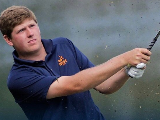 Hope College golfer Josh Gibson was named the Division