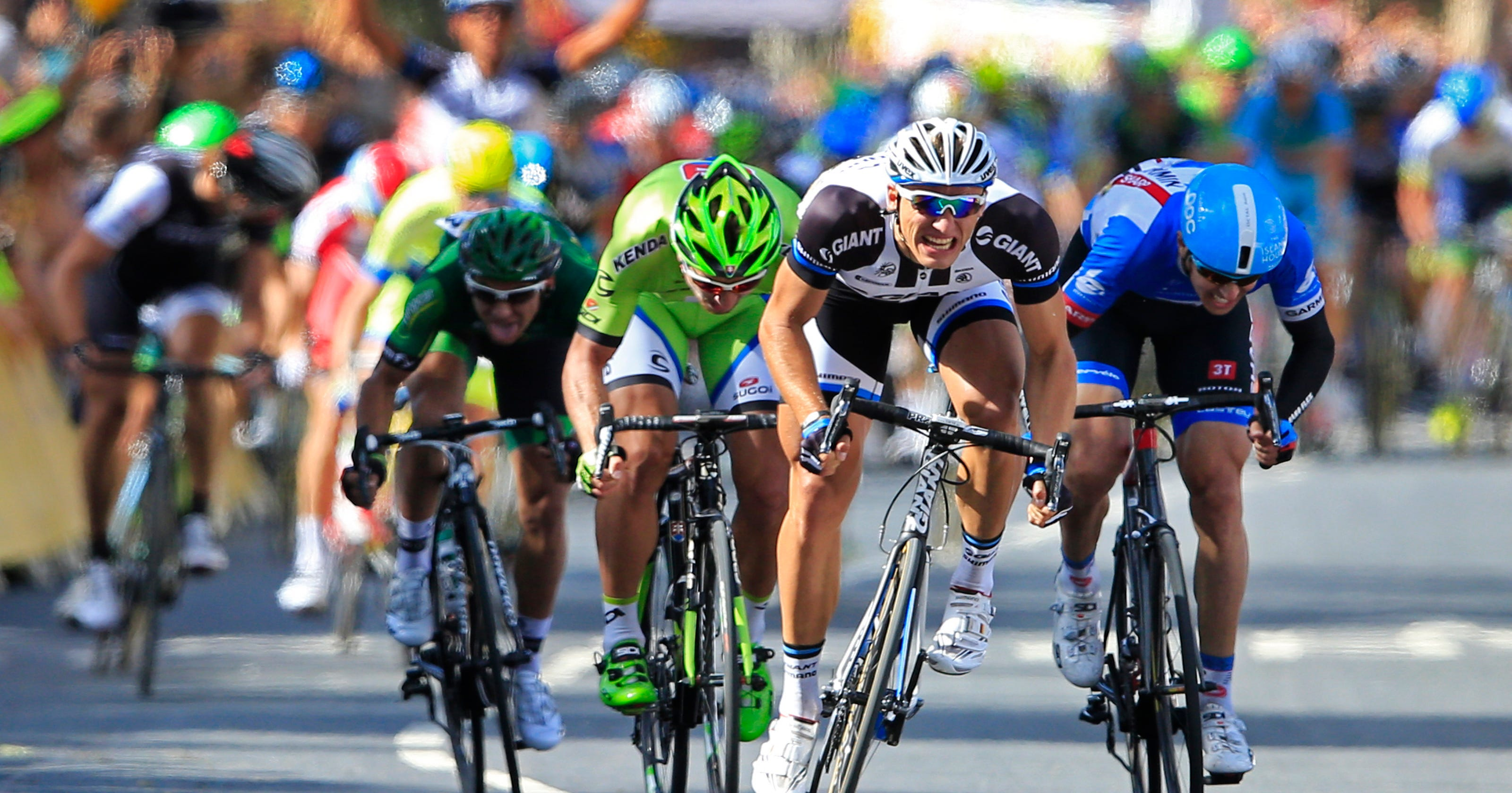 Kittel wins first stage of Tour de France 1b5f05653