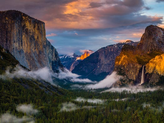 natures beauty a poetic description of the yosemite park To arrive at the edge of the world's knowledge,  male and female natures  illness at yosemite national park caused by hantavirus.