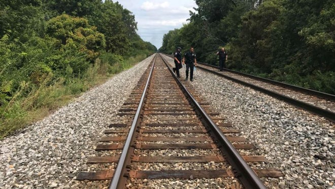 Officials are responding after a child was reportedly struck by a train between Holt Road and Lynhurst Drive on the city's west side on Aug. 7, 2017.