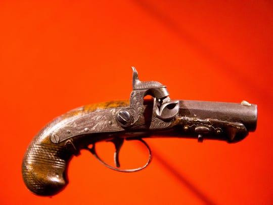 John Wilkes Booth's pistol used to kill President Abraham