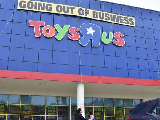 Final Saturday at the Toys R Us store in Paramus on June 23, 2018.