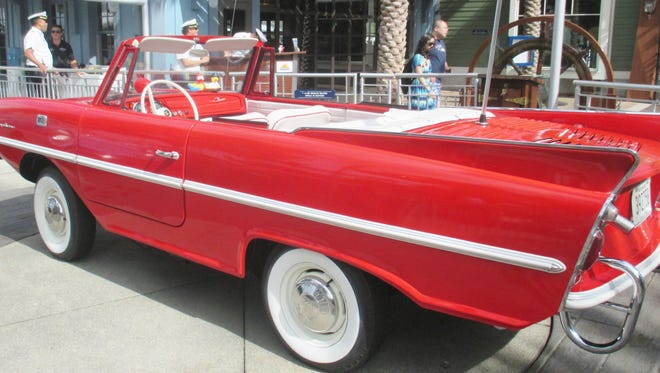 The Amphicar was built in West Germany in the 1960s.
