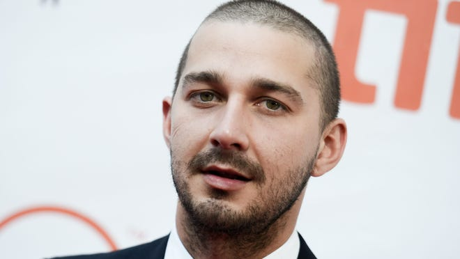 """Shia LaBeouf attends a premiere for """"Man Down"""" on day 6 of the Toronto International Film Festival at Roy Thomson Hall in Toronto."""