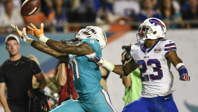 Aaron Williams is expected to play Sunday in Baltimore.
