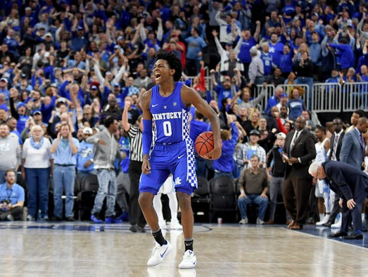 Malik Monk And De Aaron Fox Usa Today All Americans: Malik Monk's Disobedience Pays Off