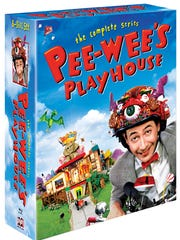 Box art for the upcoming 'Pee-wee's Playhouse: The Complete Series' Blu-ray box set, due Oct. 21.