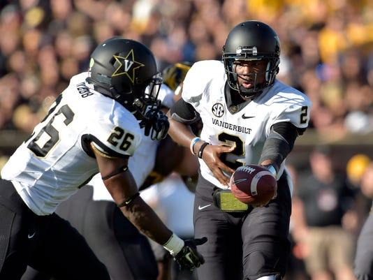 NCAA Football: Vanderbilt at Missouri