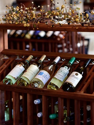 The Vineyard offers a variety of wine.