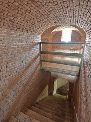 Fort Barrancas, while getting it's fair share of visitors, can often be explored while few people are present.