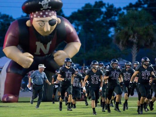 Catholic vs Navarre football
