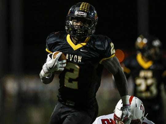 Avon's Sampson James had early success against Ben