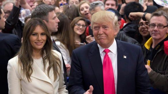 """We're going to win,"" Trump said Sunday in Iowa."