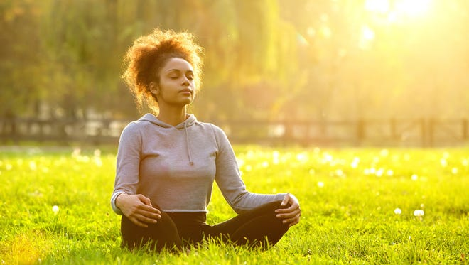 Center yourself regularly. Prayer, mindfulness and/or reflection help us to be more intentional about how we are going about our days as opposed to stumbling down the path that falls in front of us.