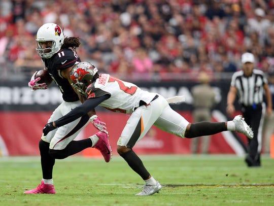 Arizona Cardinals wide receiver Larry Fitzgerald (11)