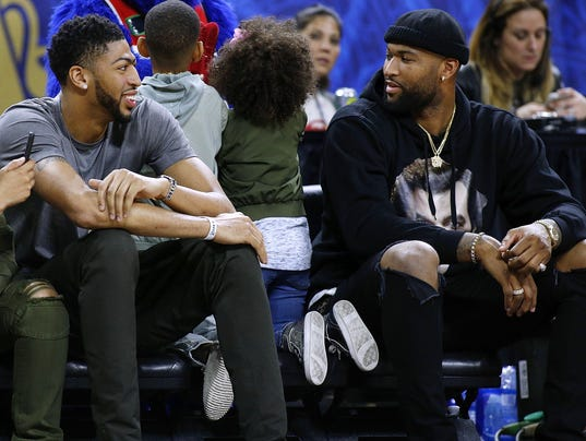Anthony Davis DeMarcus Cousins
