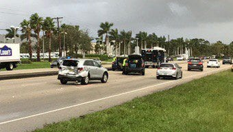 A man was critically injured Tuesday morning in a crash near Pomeroy Street and U.S. 1 in Stuart.