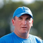 Detroit Lions OC Jim Bob Cooter takes ownership of woeful run game