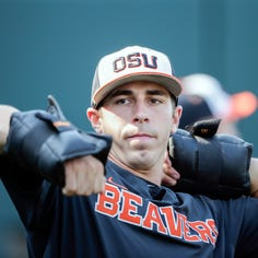 Oregon State pitcher convicted of sex offense to start first game of CWS