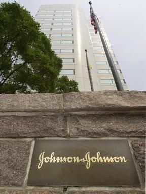 Johnson & Johnson's global headquarters in New Brunswick.