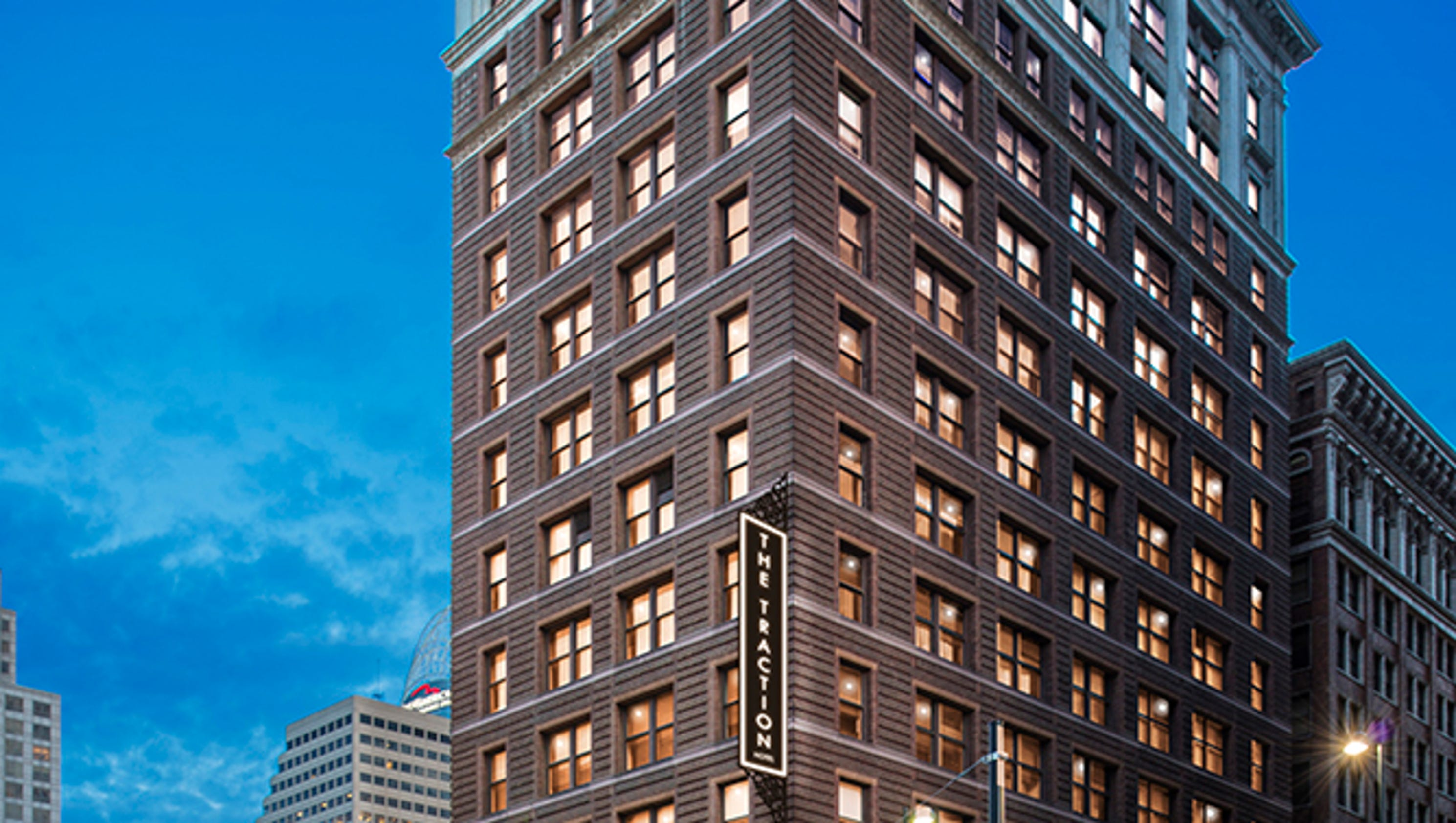 Kimpton Hotels Is Planning To Convert The Historic Traction Building At Fifth Walnut Into A Luxury Boutique Hotel Downtown