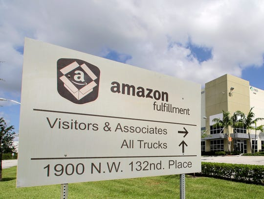 Amazon said that it's looking to fill more than 50,000