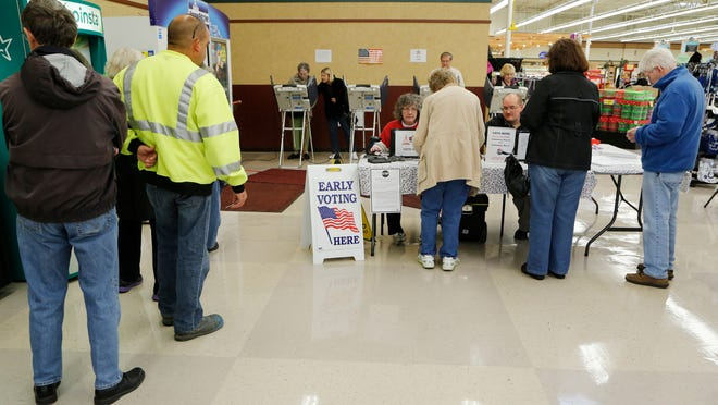 Early voting starts Thursday, Oct. 31, at four Pay Less Super Market locations in Lafayette and West Lafayette, ahead of Election Day on Nov. 5.