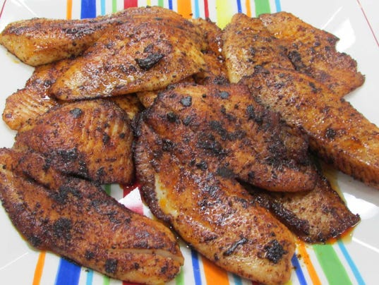 Pic 4 Ancho Chili rubbed Tilapia