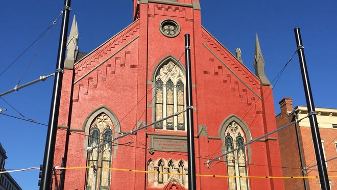 The exterior of Transept, 1205 Elm St. in Over-the-Rhine.