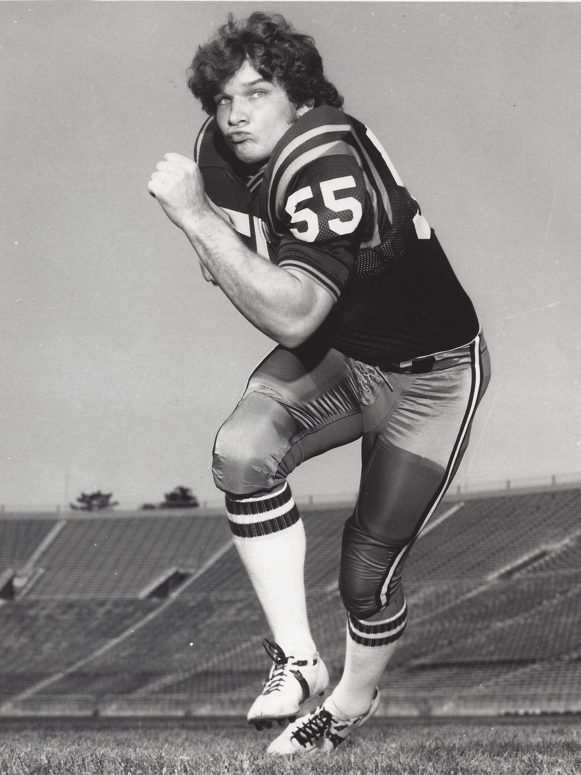 Gregg Bingham went on to a 12-year NFL career with