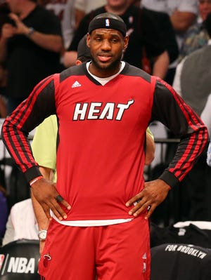 Heat forward LeBron James has been outspoken about the Donald Sterling saga.