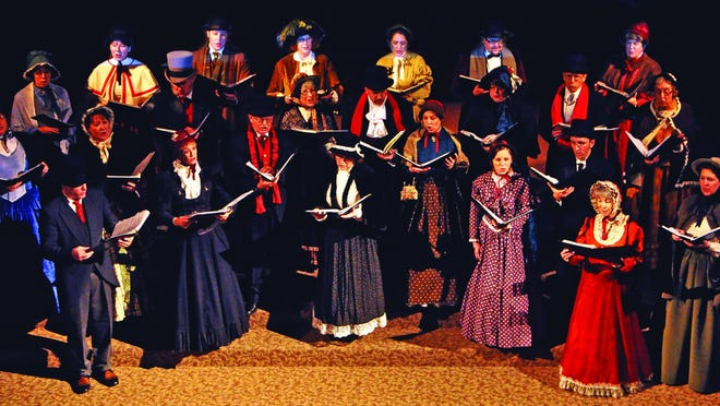 "The Festival Carolers' Christmas concert, ""Sing We Now of Christmas: A Festive Afternoon of Victorian Caroling"" will be Dec. 18 at the Historic Elsinore Theatre."