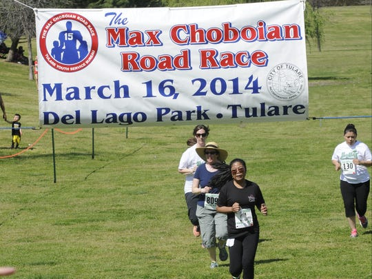 The 41st Annual Max Choboian Road Race is happening Sunday, March 26 at Del Lago Park. The two-mile run is open to anyone in kindergarten and older.