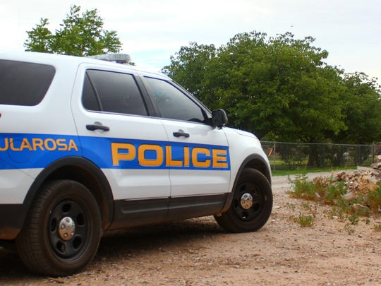 File photo Tularosa Police Department vehicle. Peter Dindinger/Daily News.