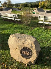 A plaque at Nyack Skate Park in Memorial Park pays homage to the nine boys who formed The Wizards and introduced skateboarding to Rockland County.
