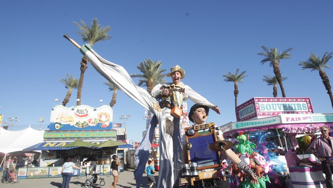 Friday: The Riverside County Fair & National Date Festival begins a two-week run in Indio