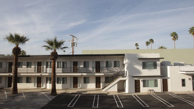 The Villa Soleil apartments on North Palm Canyon Drive in Palm Springs have been recently remodeled. In a new set of recommendations regarding the city's vacation rentals ordinance proposed by Organized Neighborhoods of Palm Springs, rental apartments could not function as short-term rentals.