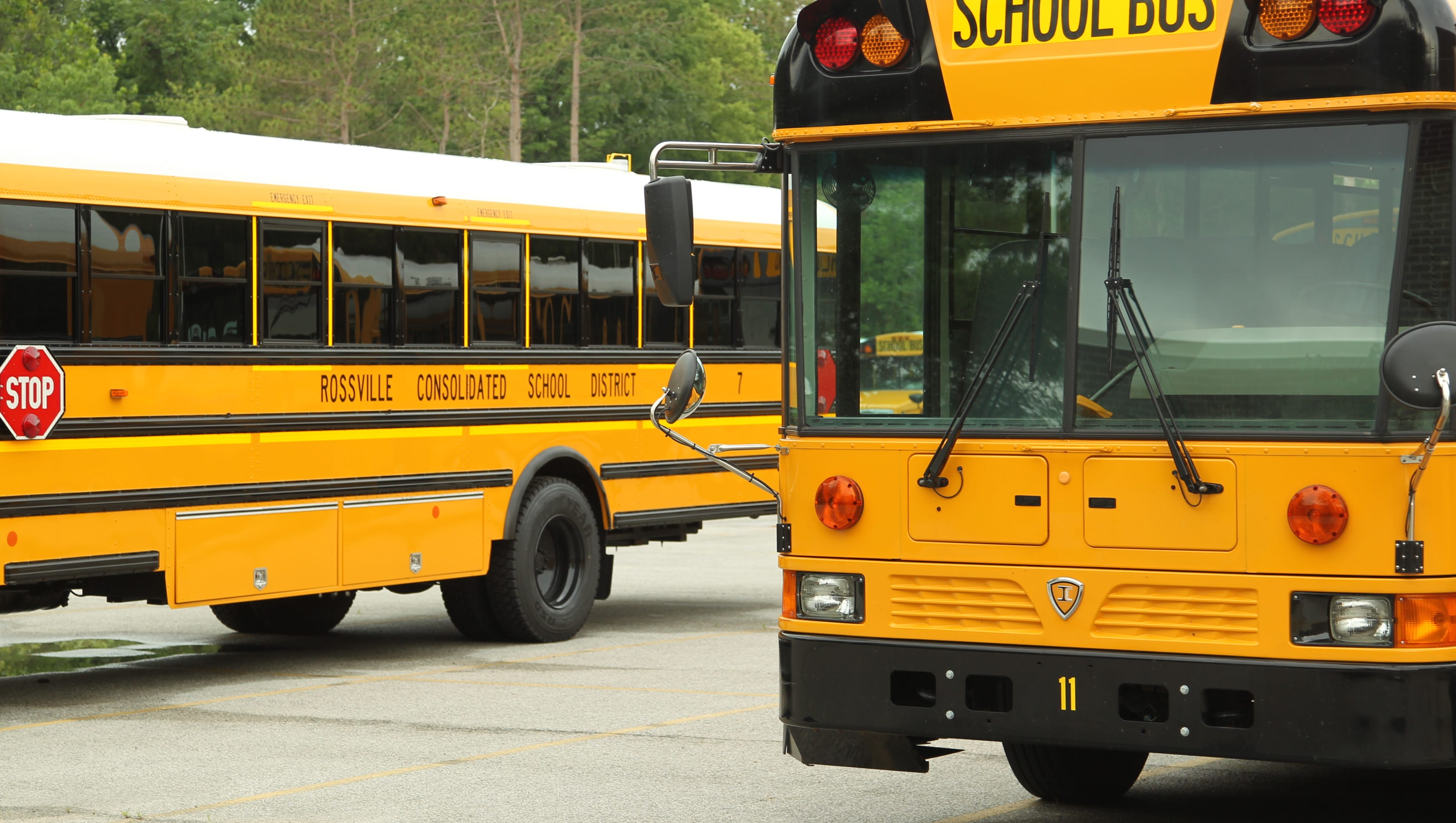 New Bus System Aides Rossville Schools