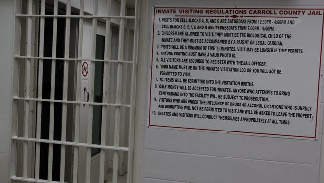 The Carroll County Jail has dealt with overcrowding issues since the early 2000s.