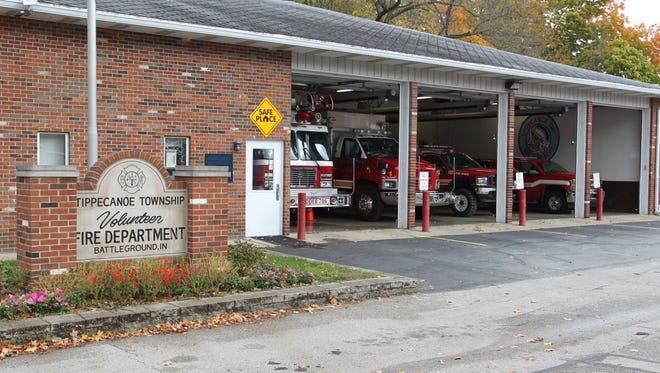 Tippecanoe Township Volunteer Fire Department in Battle Ground on Thursday, Oct. 27, 2016.