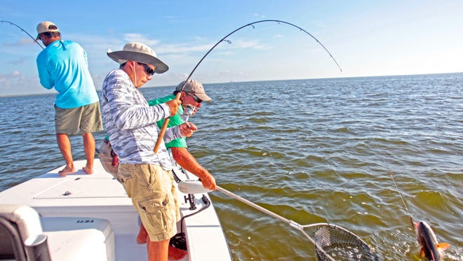 Professional guides offer insight on where fish are biting and how to catch them.