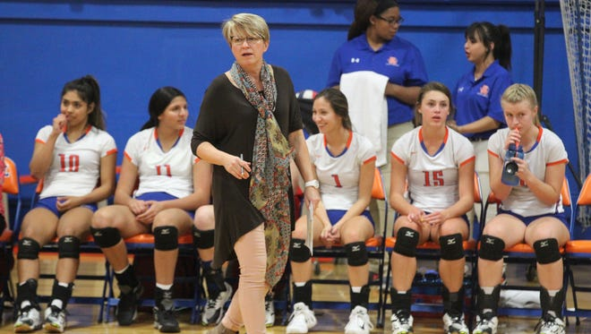 San Angelo Central High School head volleyball coach Connie Bryan Bozarth will be inducted into the Angelo State Athletic Hall of Fame on Friday.