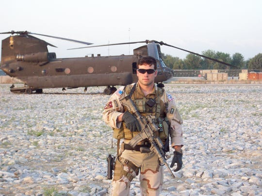 Walding received the Silver Star, the Bronze Star and was awarded the Purple Heart for bravery and valor in Afghanistan in 2008.