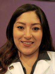 Bianca Cortez, an esthetician at the Massage Envy West